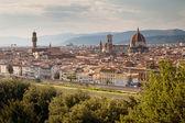 フィレンツェ、フィレンツェ、トスカーナ、イタリアの全景 — ストック写真