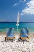 Vacation relax on beach — Stock Photo