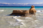 Near Canal d Amour, Sidari, Corfu, Greece — Stock Photo