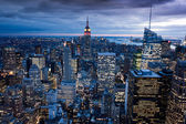 Manhattan from Rockefeller Center, New York, USA — Stock Photo