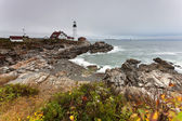 Lighthouse Portland Head Light — Stock Photo