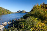Jordan pond — Stock Photo