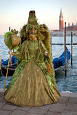 Carnival mask in Venice, Italy — Stock Photo