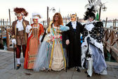Masks on Venetian carnival, Venice, Italy (2012) — 图库照片