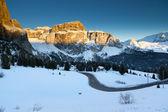 Dolomiterna bergen, italien — Stockfoto