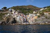 Riomaggiore, cinque terre, Itálie — Stock fotografie