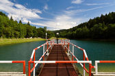 Dam near Stara Myjava, Slovakia — Stock Photo
