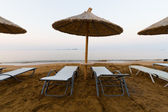 Early morning on beach — Stock Photo