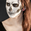Scary beauty 2 — Stock Photo