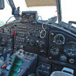 Stock Photo: Cockpit of Antonov An-2 plane
