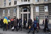 Prosecutor's Office in Lviv procession — Stock Photo