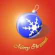 Royalty-Free Stock Vector Image: Christmas tree ball