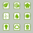 Ecological icon sticks - Stock Vector
