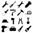 Tools icons — Stock Vector #26470881