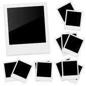Polaroid photo frame — Stock Vector