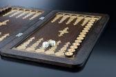 Backgammon — Stock Photo