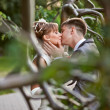 A young couple in love kissing — Stock Photo #15814865
