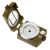 Opened compass — Stockfoto
