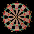 Royalty-Free Stock Photo: Darts target