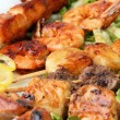 Stock Photo: shashlik