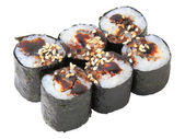 Rolls with Eel — Stock Photo