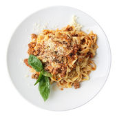 Fettuccine Bolognese — Stock Photo