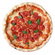 Pizza pepperoni — Stock Photo
