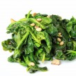 Spinach with garlic — Stock Photo #16252503