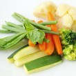 Steamed vegetables — Foto Stock