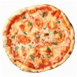 Top view of pizzMargherita — Stock Photo #16253565