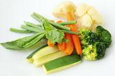 Verduras al vapor. — Stockfoto