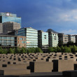 Stock Photo: Place of Memorial to Murdered Jews of Europe