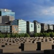 Place of Memorial to the Murdered Jews of Europe - Stock Photo