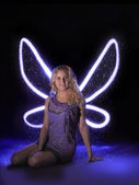 Fairy in the dark — Stock Photo