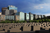 Place of Memorial to the Murdered Jews of Europe — Stock Photo