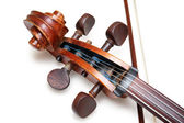 Antique violoncello — Stock Photo