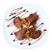 Rack of lamb top view — Stock Photo