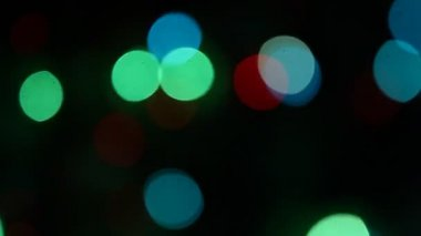 Christmas lights background — Wideo stockowe