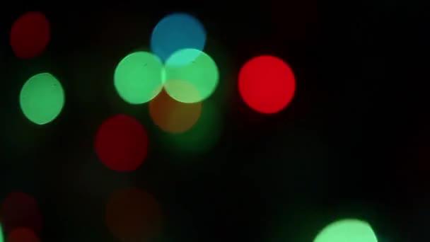 Luces — Vídeo de stock