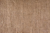 Texture of coarse burlap — Stock Photo
