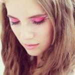 Fantasy make-up close-up — Stock Photo #30017881
