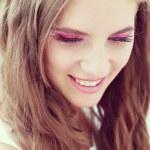 Fantasy make-up close-up — Stock Photo #30017883