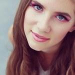 Fantasy make-up close-up — Stock Photo #30017891