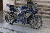 çamaşır motorsiklet yamaha r6 — Stok fotoğraf