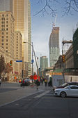 Downtown Toronto, Front Streettm — Stock Photo