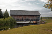 Covered Bridge — Foto de Stock
