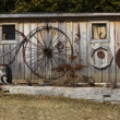 Stock Photo: Wooden shed