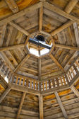Gazebo rafters — Stock Photo