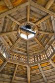 Gazebo rafters — Stock Photo