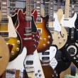 Stock Photo: Electric guitars